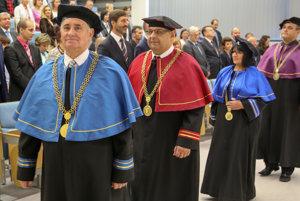 Otvorenie nového akademického roka na Žilinskej univerzite.