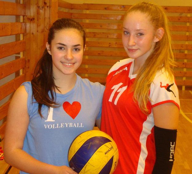 Sofia Sivičeková (vľavo) a Bibiana Peťková.