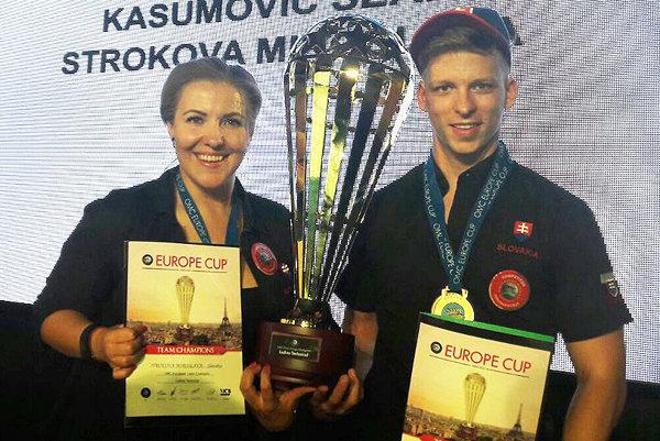 Miroslava Stroková so Seanom Kasumovičom.