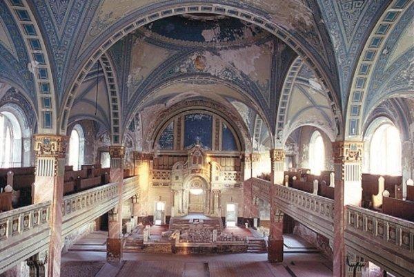 Liptovskomikulášska synagóga.