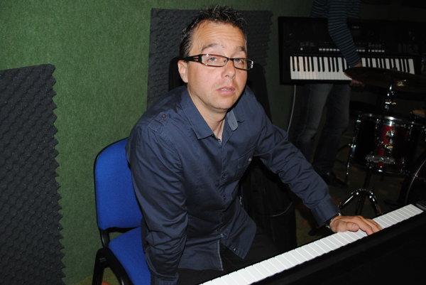 Peter Adamkovič, hudobník a dramaturg.