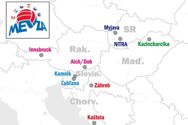 Nitra si premiérovo zahrá stredoeurópsku súťaž MEVZA Cup.