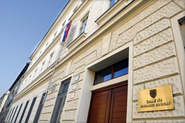 Ústavný súd v Košiciach.