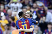 Messi s Neymarom.