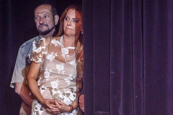 Monika Flašíková Beňová a Boris Zala.