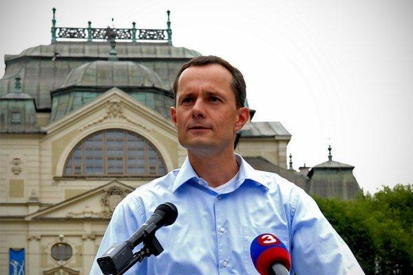 Radoslav Procházka v Košiciach.