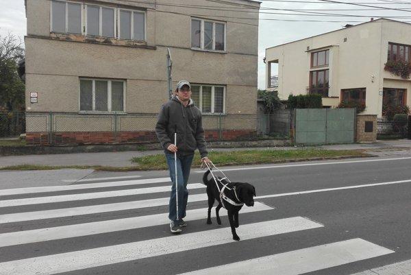 Nevidiaci účastník cestnej premávky.