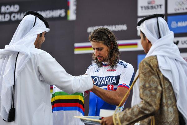Sagan môže za svoj úspech vďačiť aj svojim pomocníkom.