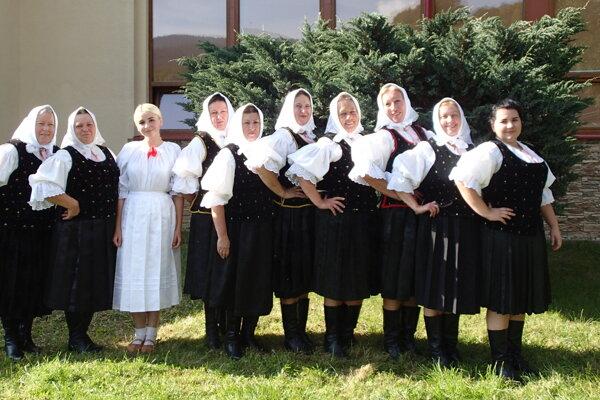 Spevácka skupina Turzovanka.