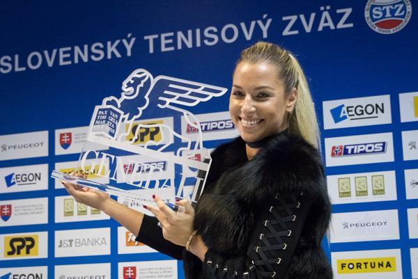 Dominika Cibulková sa predstaví na MS WTA v Singapure.