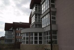 Rozostavaný nemocničný pavilón