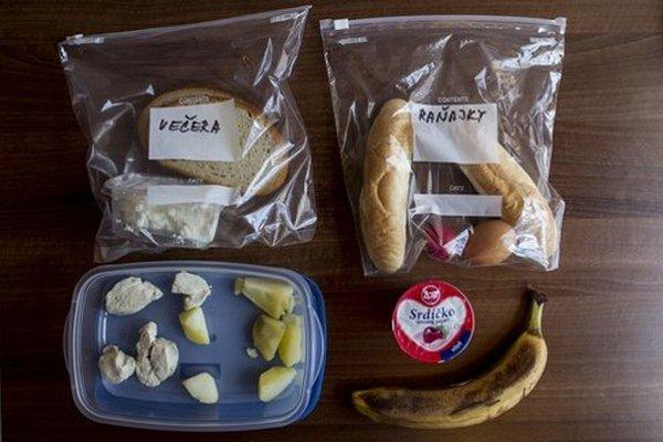 Bežná denná strava detí z polepšovní, poslancom ju ukázala ombudsmanka.