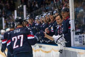 Hokejisti Slovana proti Nižnekamsku neuspeli.