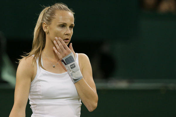 Magdaléna Rybáriková nehrala tenis súťažne od júla minulého roka.