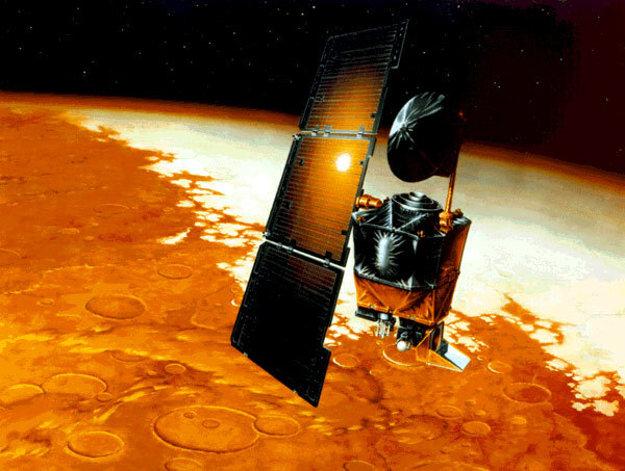 Umelecké zobrazenie Mars Climate Orbiter.