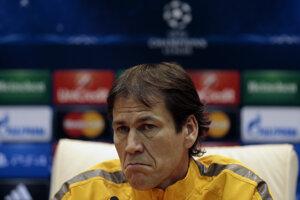 Tréner Rudi Garcia.