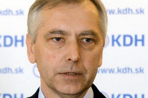 Líder KDH Ján Figeľ pripomenul aj správanie sa SDKÚ pri hľadaní spoločného prezidentského kandidáta.