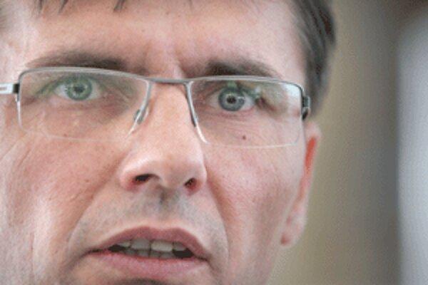 Minister obrany Ľubomír Galko.