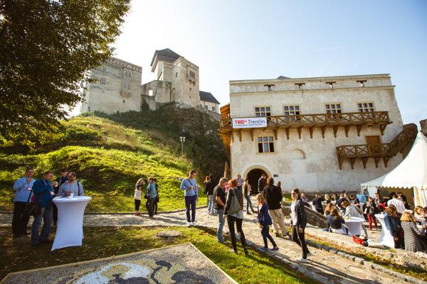 TEDx na Trenčianskom hrade.