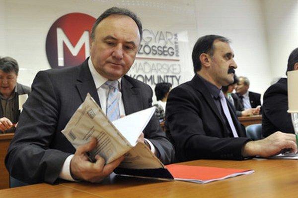 Pál Csáky (vľavo).