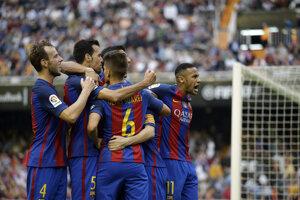 Barcelona vyhrala vo Valencii.