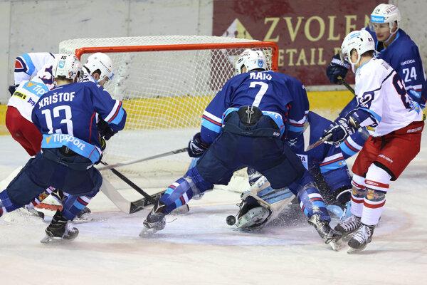 Na víťazstvo vo Zvolene Nitrania v nedeľu nenadviazali a proti Žiline zaznamenali prvú domácu prehru v sezóne.