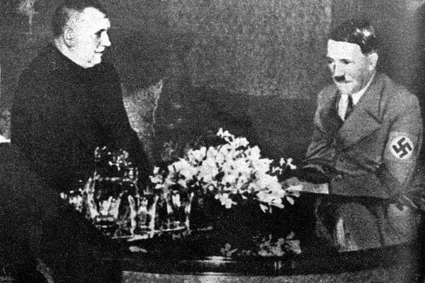 Jozef Tiso u Hitlera.