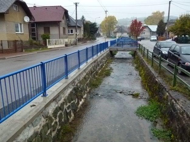 Prvú etapu rekonštrukcie už má potok Cedron za sebou.