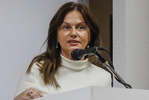 Europoslankyňa za stranu Smer Monika Flašíková-Beňová.