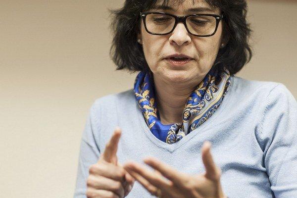 Nemám pripravené plány, hovorí Lucia Žitňanská.