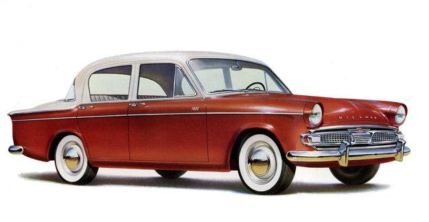 V rokoch 1959 až 1962 sa do Československa dovážal model Hillman Minx III. série. Štatistika z roku 1966 uvádza, že v tomto roku ich jazdilo u nás 2068 kusov.