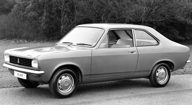 Jedným z posledných modelov so značkou Hillman bol model Avenger.