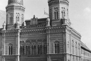 Niekdajšia synagóga slúžila aj ako televízne štúdio.