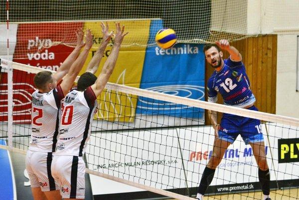 Milan Bencz hral za Nitru len v zápase v Prešove, ktorý Bystrina vyhrala 3:1.