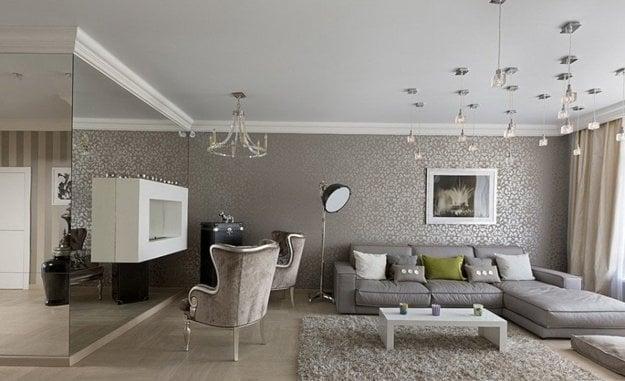 Návrhy interiérov izieb