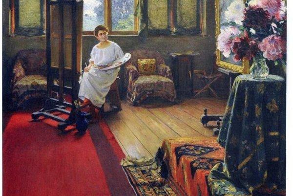 Takto nakreslil svoju talentovanú dcéru Karolu Dominik Skutecký. Jej osud sa  naplnil vo vápennej peci v Nemeckej.