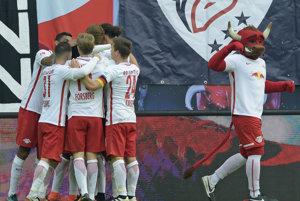 Futbalisti Lipska pokračujú vo výborných výkonoch.