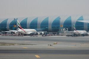 Dubajské letisko.