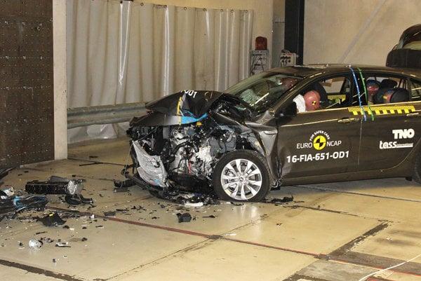 Fiat Tipo absolvoval nárazové testy Euro NCAP