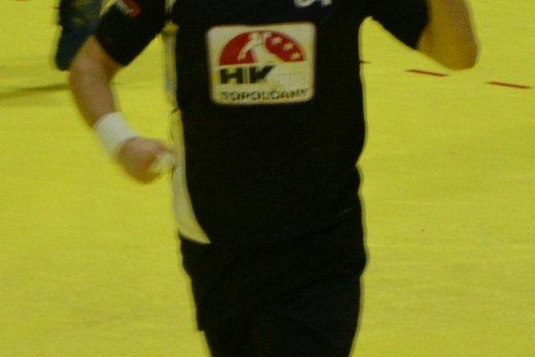 Erik Žilinčík sa raduje po strelení gólu.