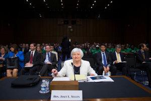 Janet Yellen, riaditeľka Federálneho rezervného systému USA