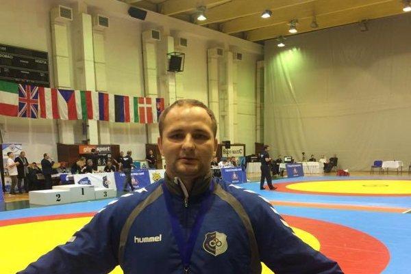 Matúš Jún získal kov bronzového lesku.