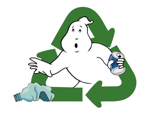 Logo wastebusters - ničiteľov odpadu.