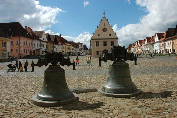 Bardejovské námestie. Mesto boduje v súťaži dlhodobo. (Zdroj: bardejov.sk).