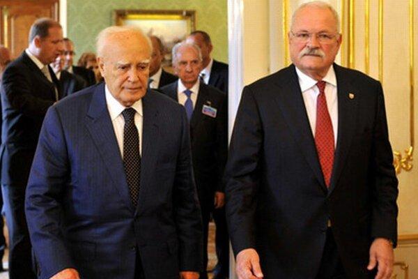 Prezidenti Grécka a Slovenska.