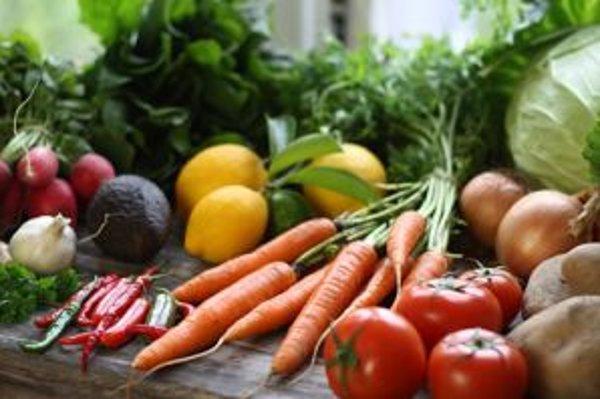 Zelenina a ovocie sú aj prirodzeným zdrojom antioxidantov.