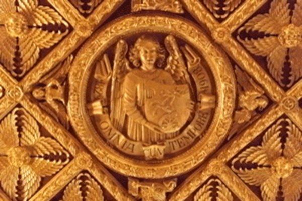 Takto si zlatý strop predstavoval gróf Pálfi, no nedožil sa ho.