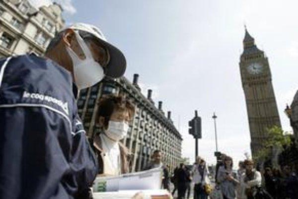 Prasacej chrípky sa boja v Londýne asi len turisti.