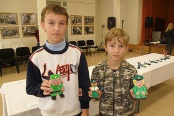 Tomášove a Matúšove postavičky policajtov sa páčili najviac.