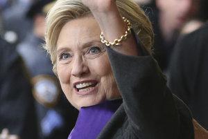 Porazená Clintonová.
